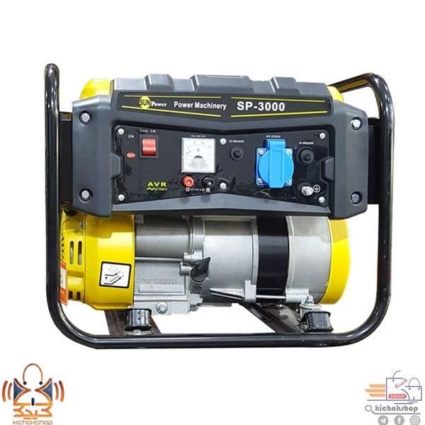 تصویر موتور برق سان پاور مدل SP-3000 Sun Power SP-3000 Electric Engine