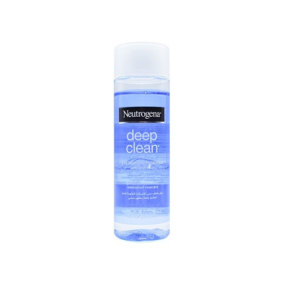 تصویر محلول دوفاز پاک کننده آرایش دورچشم دیپ کلین نوتروژینا Neutrogena Deep Clean Eye Makeup Remover 125ml