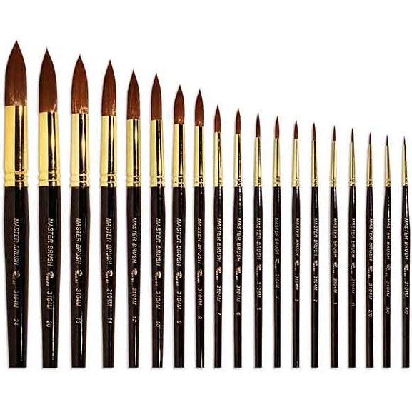 قلمو سر گرد پارس آرت سری ۳۱۰۴ master brush |