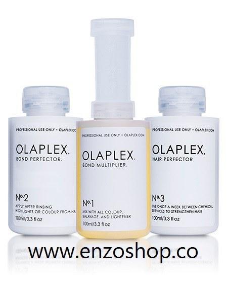 تصویر اولاپلکس (OLAPLEX) تقویت کننده مو در زمان دکلره و رنگ مو