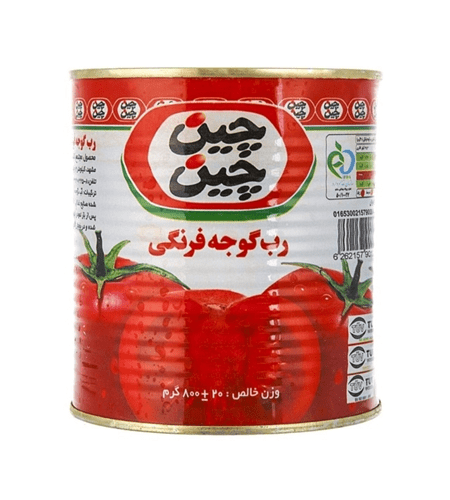 رب گوجه فرنگی 800 گرم چین چین