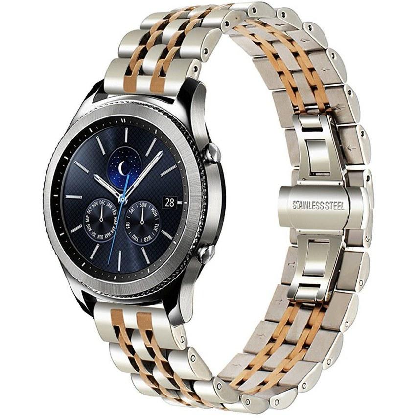 تصویر بند فلزی ساعت هوشمند سامسونگ Galaxy Watch 46 طرح رولکس