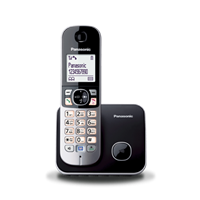 main images گوشی تلفن  بی سیم  پاناسونیک Panasonic Cordless Telephone KX-TG6811