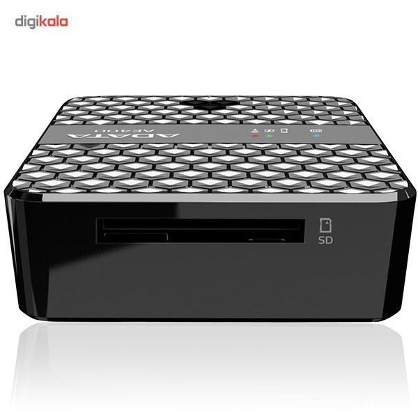تصویر اکسس پوينت بيسيم و شارژر همراه اي ديتا مدل DashDrive Air AE400 Adata DashDrive Air AE400 Wireless Storage Reader with Power Bank
