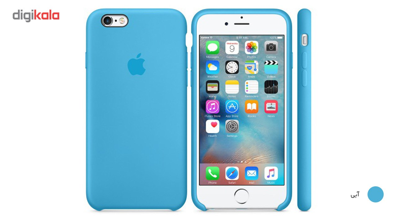 img کاور سيليکوني مناسب براي گوشي موبايل آيفون 6 پلاس/6s پلاس Silicone Cover For iPhone 6 Plus/6s Plus