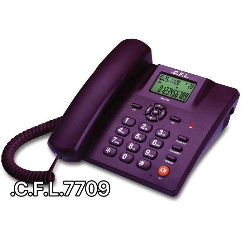 تصویر تلفن رومیزی سی اف ال CFL 7709 C.F.L.7709 telephone