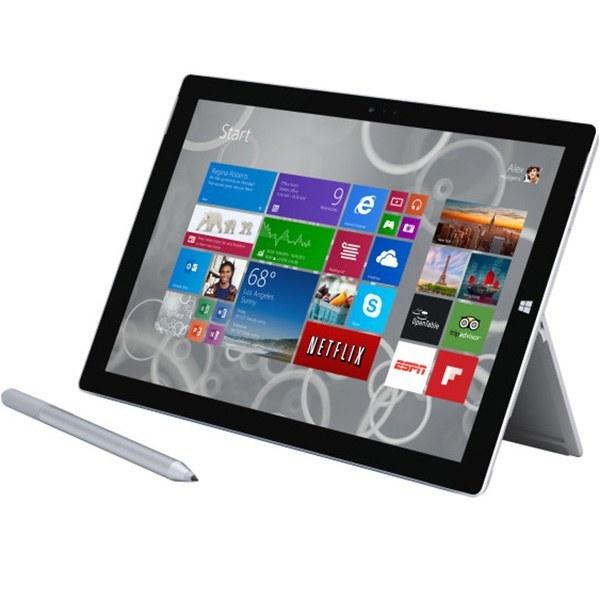 تبلت مایکروسافت مدل Surface Pro 3 ظرفیت 256 گیگابایت
