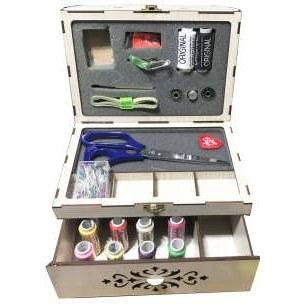جعبه لوازم خیاطی طرح نگار کد irsa-874
