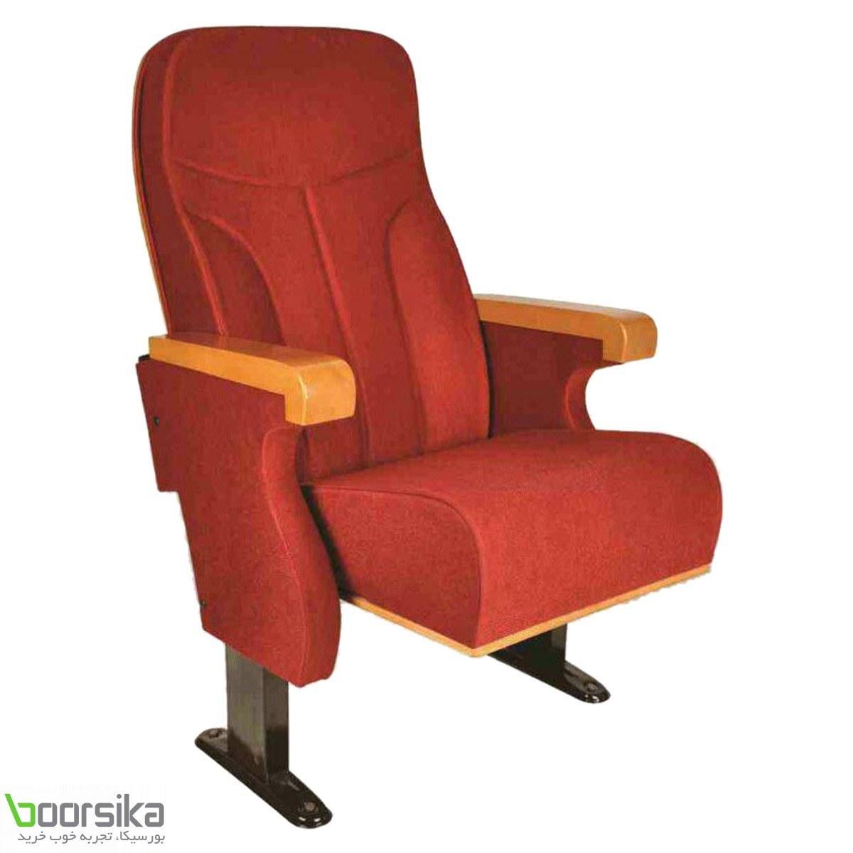 صندلی آمفی تئاتر پارس تکنیک AT100 با روکش چرم یا پارچه