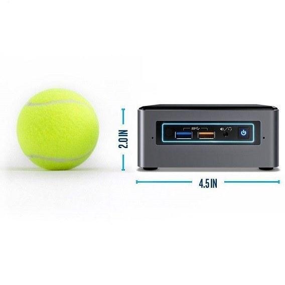 تصویر کامپیوتر کوچک اینتل مدل nuc8i5beh