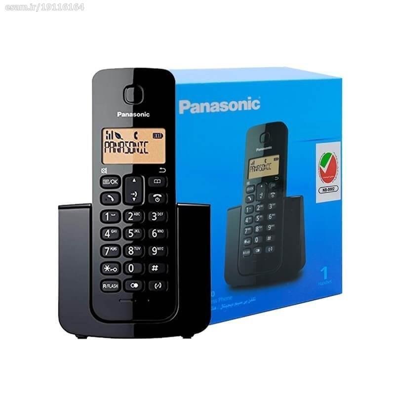 تصویر تلفن بیسیم پاناسونیک مدل KX-TGB110 |مشکی Panasonic KX-TGB110 Wireless Phone