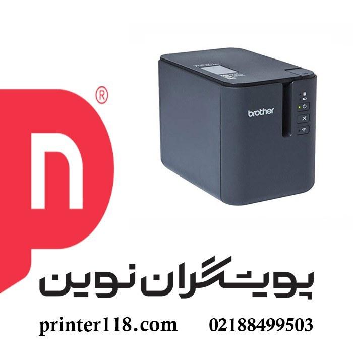 تصویر لیبل پرینتر Brother P950nw Brother Mobile PT-P950NW Powered Wireless Network Laminated Label Printer