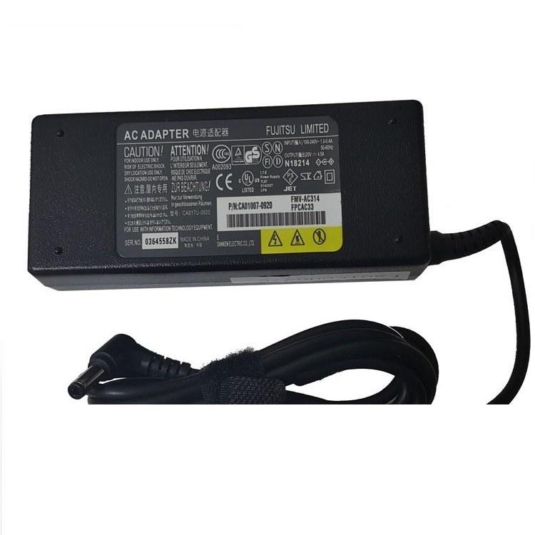 تصویر Fujitsu 20V 4.5A Power Adapter آداپتور لپ تاپ فوجیتسو مدل 20V 4.5A
