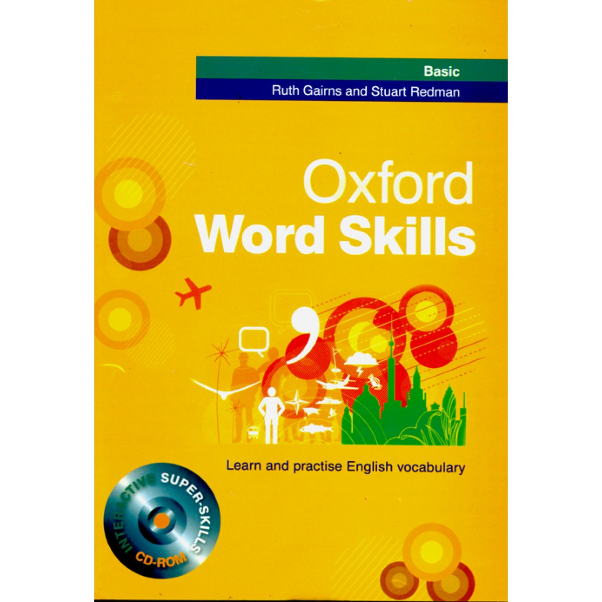 Oxford Word Skills Basic+CD (جنگل)