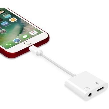 تصویر کابل تبدیل لایتنینگ به aux اپل رابط شارژر و هندزفری ایفون X-HANZ HD-A700 Adapter Apple  Iphone 7/8/XS Max/ 11 Pro Max/12 Pro