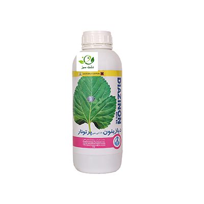 تصویر حشره کش دیازینون 1 لیتری پرتونار حشره کش دیازینون از گروه ارگانوفسفات و یک حشره کش غیر سیستمیک است.