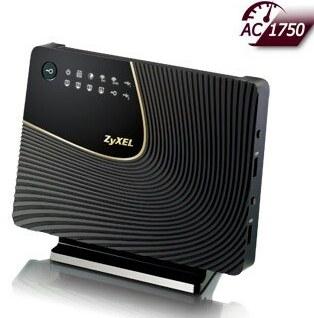 تصویر روتر دوبانده بیسیم زایکسل مدل ان بی جی 6716 روتر بیسیم زایکسل NBG6716 Dual-Band Wireless AC1750 HD Media Router