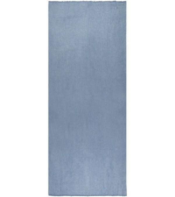 شال ساده نخی آبی جین وست JeanWest