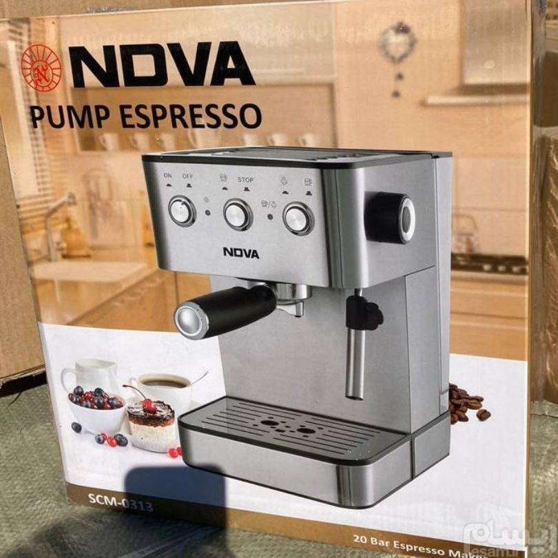 تصویر اسپرسو ساز NOVA مدل  SCM-0313
