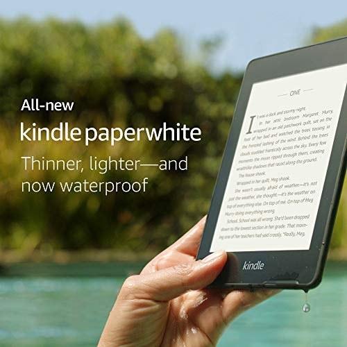 کتابخوان کیندل Paperwhite آمازون – ضد آب با ظرفیت 8GB