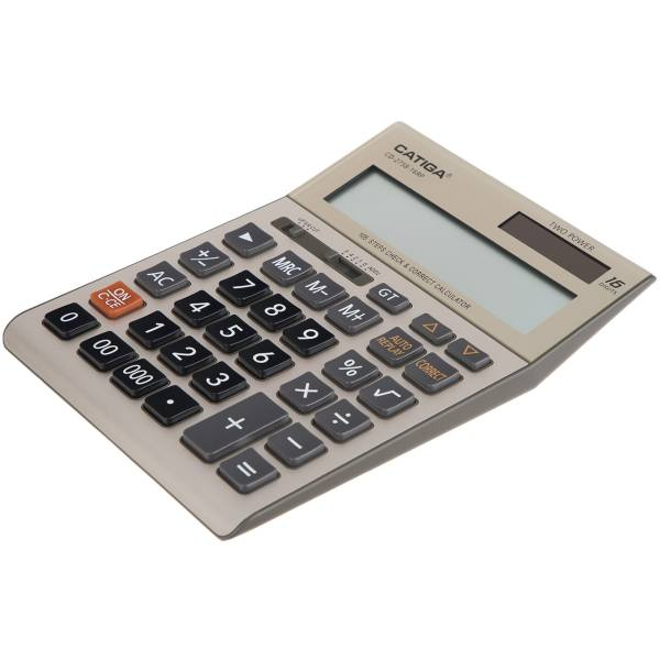 تصویر ماشین حساب کاتیگا مدل CD-2758-16RP Catiga CD-2758-16RP Calculator