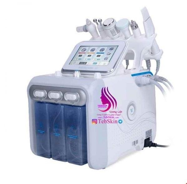 تصویر دستگاه میکرودرم مایع اکواجت 6 کاره Aquajet
