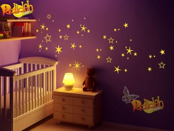 استیکر اتاق کودک ستاره باران |