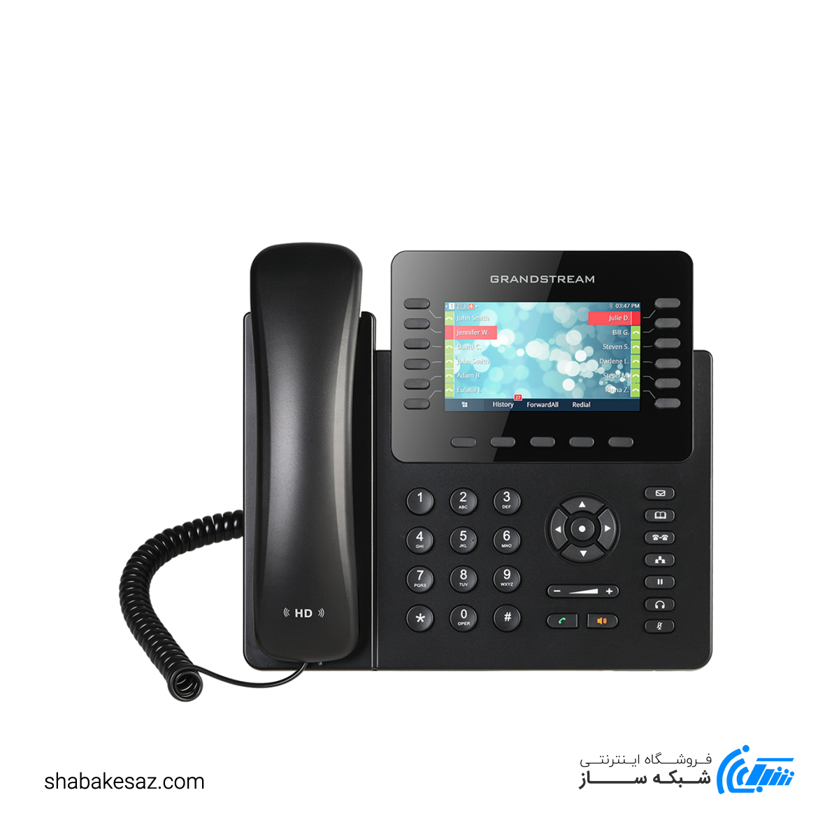 تصویر گوشی تلفن GXP2170 گرند استریم Grandstream GXP2170