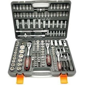 تصویر جعبه بکس 171 عددی باس BOSS ا Socket Wrench Socket Wrench