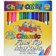 تصویر ماژیک 12 رنگ چیکی چیکی Chiki Chiki 12 Colors Painting Marker