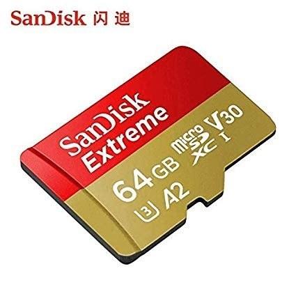 عکس کارت حافظه microSDXC سن دیسک مدل Extreme PRO کلاس A2 استاندارد UHS-I U3 سرعت 170MBps ظرفیت 64 گیگابایت به همراه آداپتور SD  کارت-حافظه-microsdxc-سن-دیسک-مدل-extreme-pro-کلاس-a2-استاندارد-uhs-i-u3-سرعت-170mbps-ظرفیت-64-گیگابایت-به-همراه-اداپتور-sd