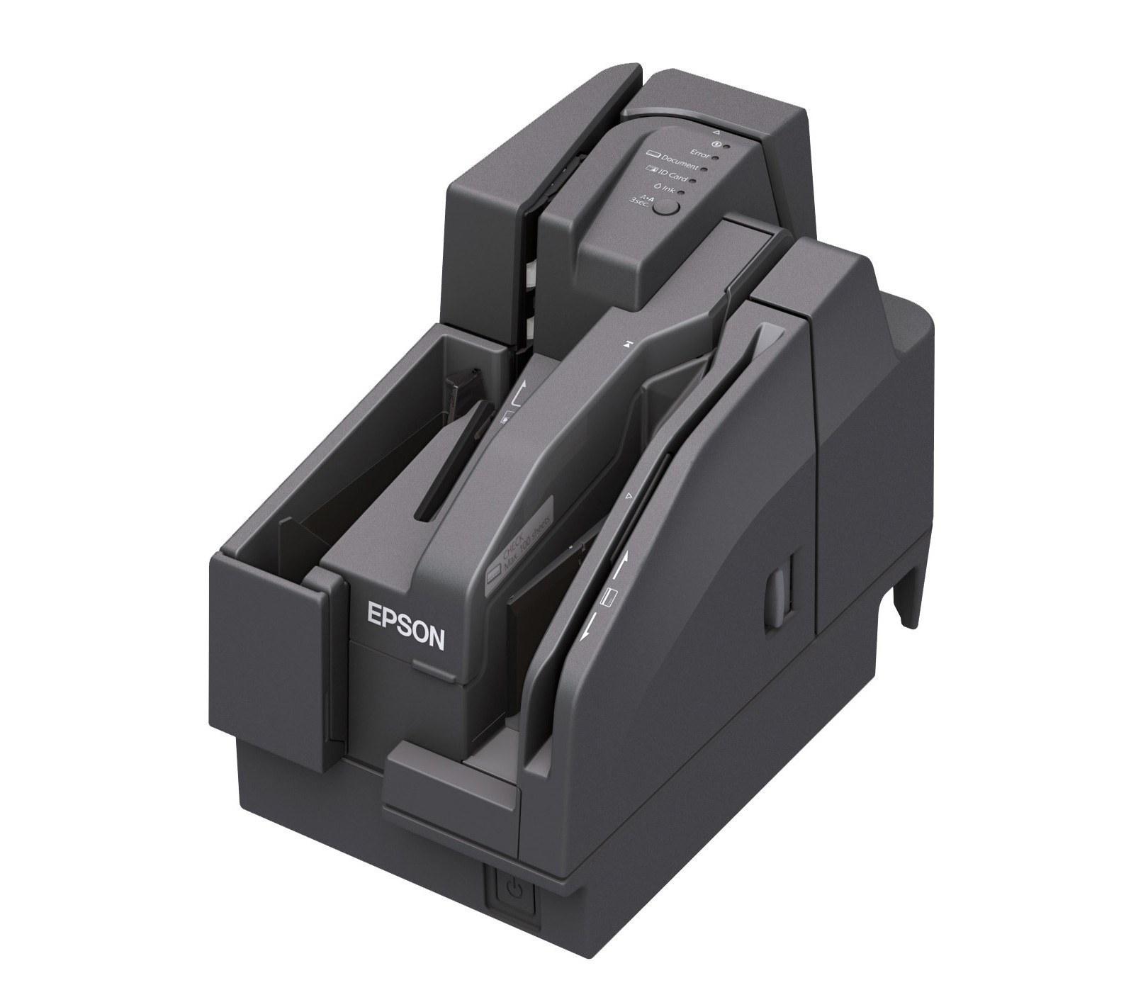تصویر اسکنر چک اپسون مدل TM-S2000MJ Epson TM-S2000MJ Cheque scanner