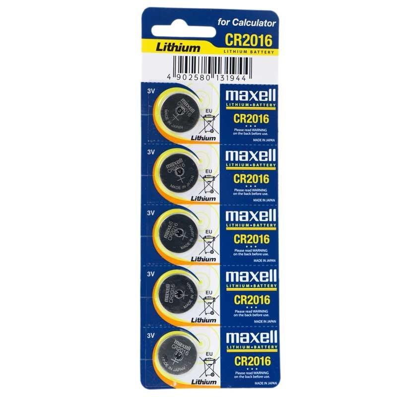 تصویر باتری سکه ای مکسل مدل CR2016 Maxell Lithium CR2016 Battery