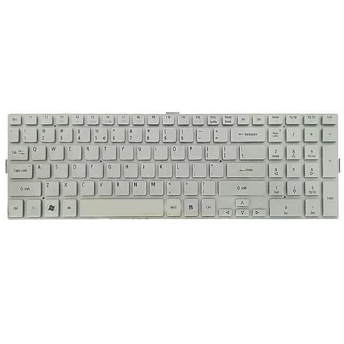 تصویر کیبرد لپ تاپ ایسر Aspire 5943 نقره ای-اینتر کوچک بدون فریم ا Keyboard Laptop Acer Aspire 5943 Keyboard Laptop Acer Aspire 5943