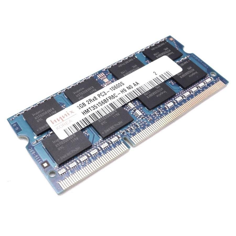 رم لپ تاپ هاینیکس ۲ گیگابایت با فرکانس ۱۳۳۳ مگاهرتز | Hynix PC3-10600 2GB 1333MHz Laptop Memory