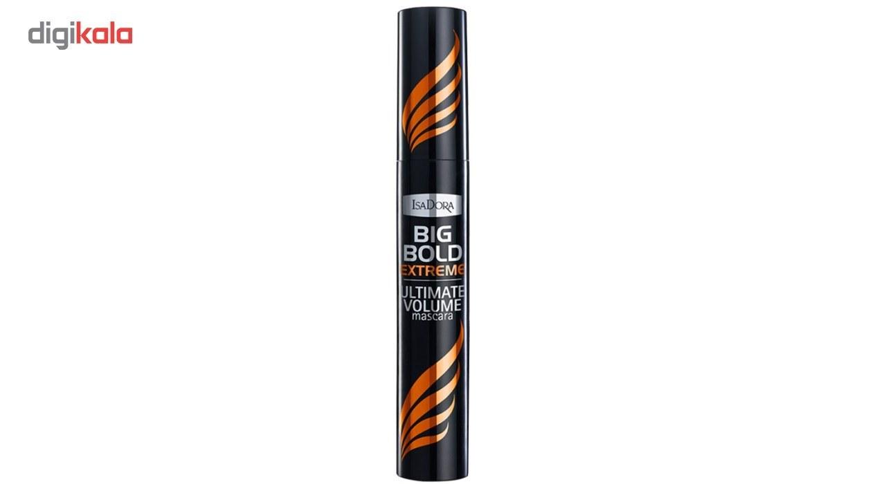 img ریمل حجم دهنده ایزادورا مدل Big Bold Extreme Isadora Big Bold Extreme Ultimate Volume Mascara