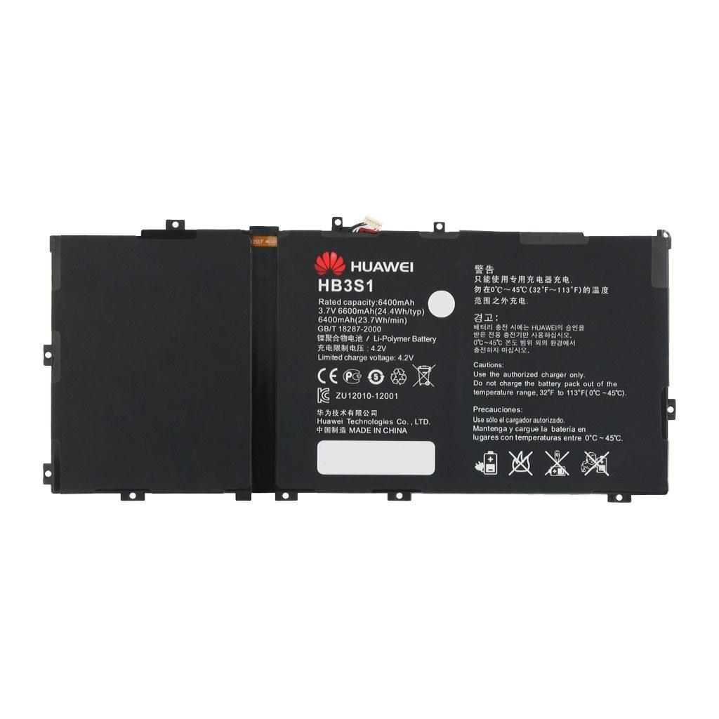 باتری اورجینال تبلت هواوی MediaPad 10 FHD مدل HB3S1 ظرفیت 6600 میلی آمپر ساعت