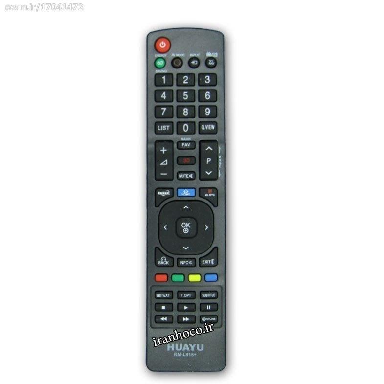 عکس کنترل تلویزیون ال ای دی LED ال جی مدل +RM-L915  کنترل-تلویزیون-ال-ای-دی-led-ال-جی-مدل-+rm-l915