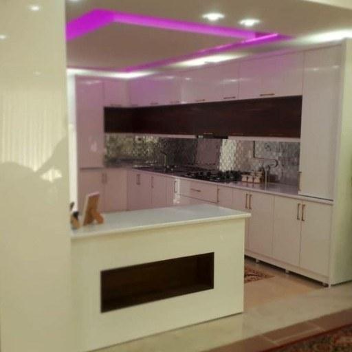 تصویر طراحی و ساخت و نصب کابینت آشپزخانه جنس ممبران (متری)