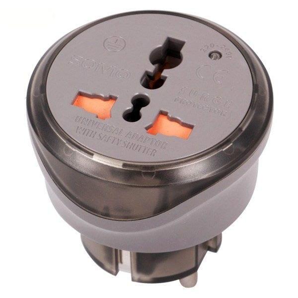 تصویر تبدیل ۳ به ۲ برق فیوز دار Somo SM100