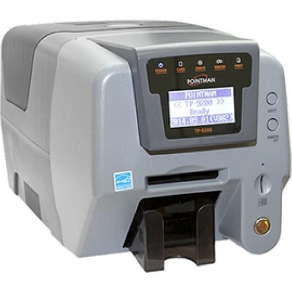 تصویر پرینتر چاپ کارت پوینتمن مدل تی پی 9200 پرینتر چاپ کارت PVC پوینتمن TP-9200 Card Printer