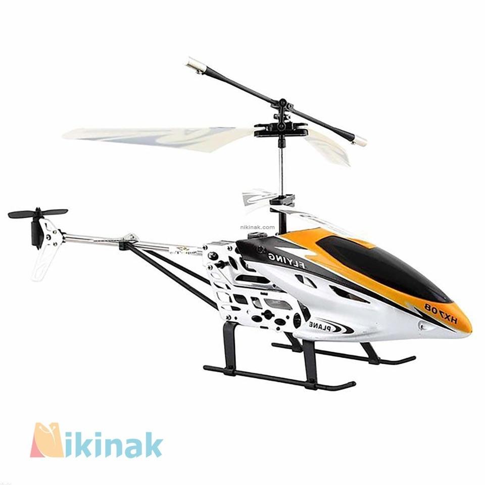 تصویر هلیکوپتر کنترلی دوکانال مدل HX708