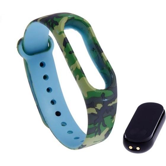 بند مچ بند هوشمند شیاومی مدل Army Blue Design