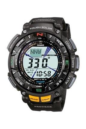 تصویر ساعت مچی دیجیتالی مردانه کاسیو پروترک مدل PRG-240-1DR Casio ProTrek PRG-240-1DR Digital Watch For Men