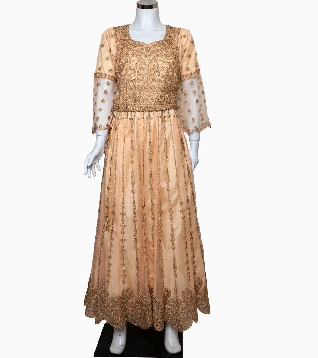 تصویر لباس هندی لهنگا کد KH-01035