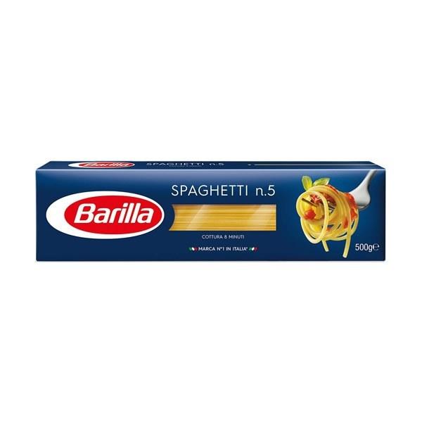 تصویر ماکارونی اسپاگتی n.5 باریلا شماره پنج 500 گرمی Barilla SPAGHETTI