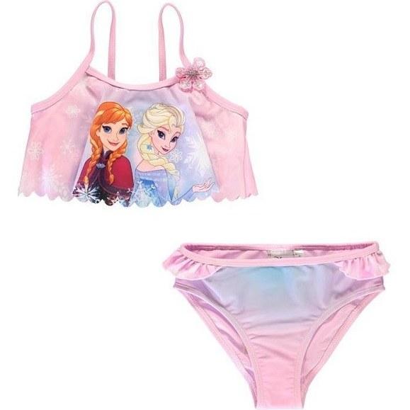 مایو شنا دخترانه کاراکتر مدلFrozen ۲ Piece