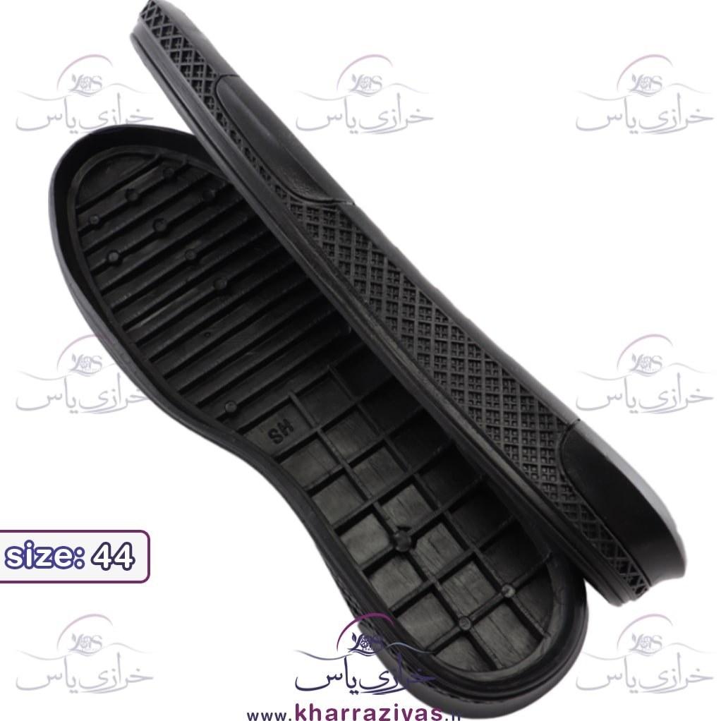 تصویر زیره کفش کارن مشکی مردانه سایز 44
