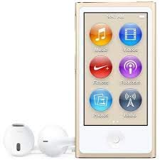 Iplayer iPod Nano 7th Generation Gold 16gb with Generic Accessories Non Retail Packaging |
