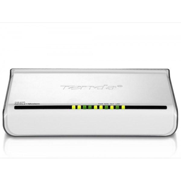تصویر مودم تندا D840R Modem Tenda D840R ADSL2+ Router with 4-Port Switch